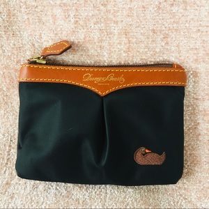 Dooney & Bourke Black coin pouch